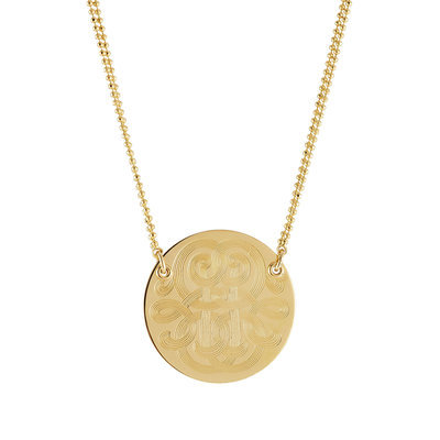 Gas Bijoux Diva Large 24kt Gold-Plated Necklace