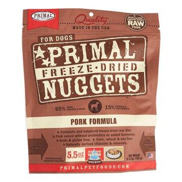 Primal Freeze-Dried Nuggets Grain Free Pork Formula Complete Diet Dog Food