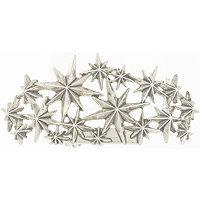 Kitsch Silver Star Bun Pin