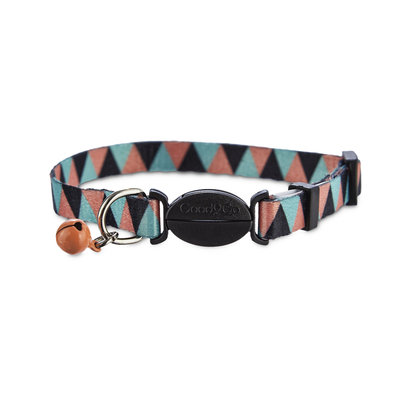 Good2Go Triangle Pattern Cat Collar