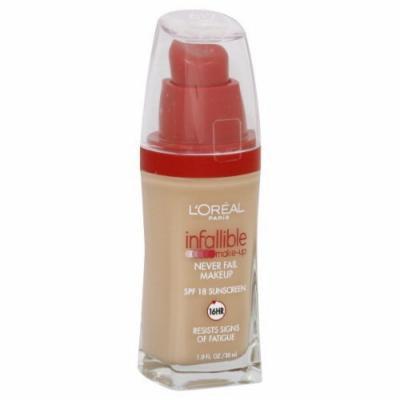 L'Oreal Paris Infallible Advanced Never Fail Makeup, Sand Beige (2-Pack)
