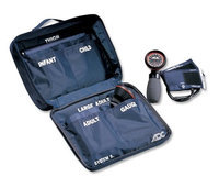 ADC SYSTEM 5 Palm Multicuff Blood Pressure Kit, Navy