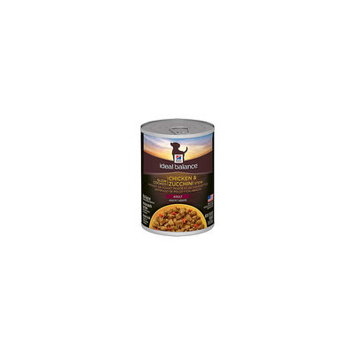 Hill's Science Diet Hills Ideal Balance Slow Cooked Chicken & Zucchini Stew Adult dog food, 12x12.5oz cans