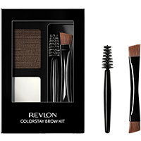 Revlon® ColorStay™ Brow Kit 102 Dark Brown .08 oz. Carded Pack