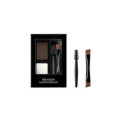 Revlon® ColorStay™ Brow Kit 102 Dark Brown .08 oz. Carded Pack