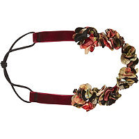 Scunci Velvet Rosette Headwrap