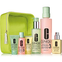 Clinique Great Skin Home and Away Set For Oilier Skin