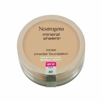 Neutrogena Mineral Sheers Loose Powder Foundation Nude (2-Pack)