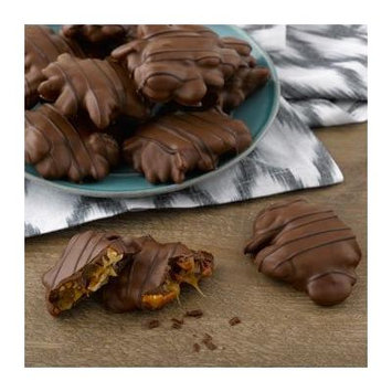 Milk Chocolate Pecan Caramel Clusters