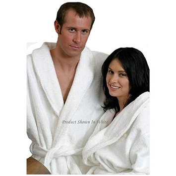 Two Royal Blue Matching Terry Bathrobes. Great For Couples