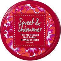 Sweet & Shimmer Nail Polish Remover Pads
