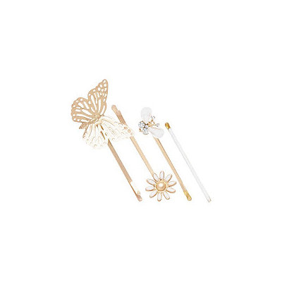 Scunci Butterfly Bobby Pins