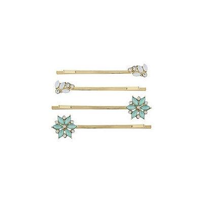 Capelli New York Flower Bobby Pins