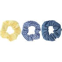 Capelli New York Mixed-Pattern Scrunchies