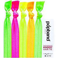 Popband London Glo Hair Tie Multi Pack