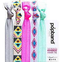 Popband London Tribal Hair Tie Multi Pack