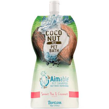 TropiClean Sweet Pea & Coconut Dog Shampoo, 12 fluid ounce
