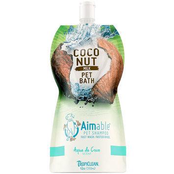 TropiClean Aqua De Coconut Dog Shampoo, 12 fluid ounce