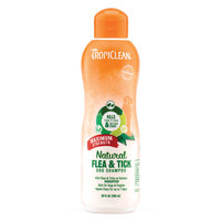 Tropicleanreg; Natural Flea Tick Shampoo Maximum Strength (20 oz)