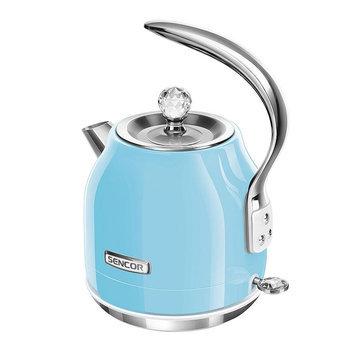 Sencor Swivel Base 1.5-Liter Electric Kettle, Blue