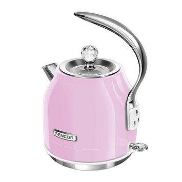 Sencor Swivel Base 1.5-Liter Electric Kettle, Pink