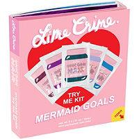 Lime Crime Mermaid Goals Try-Me Kit