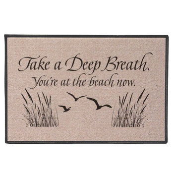 Wireless Take a Deep Breath Mat - Beach
