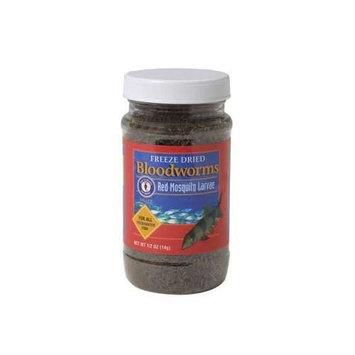 Freeze Dried Bloodworms - 0.5 oz.
