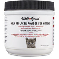 Well & Good Milk Replacer for Kittens, 6 OZ