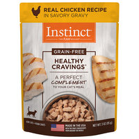 Natures Variety Nature's Variety Instinct Healthy Cravings Grain Free Tender Chicken Recipe Meal Topper Pouches for Cats