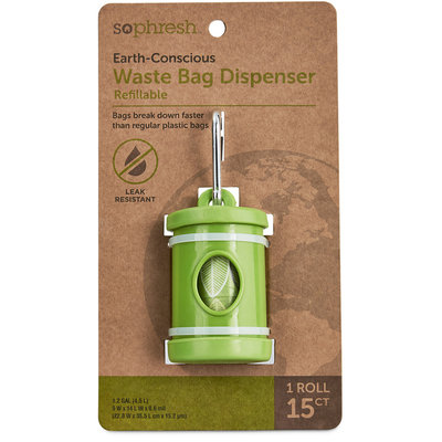 So Phresh Earth-Conscious Dog Waste Bag Dispenser