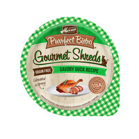 Merrick Purrfect Bistro Gourmet Shreds Savory Duck Recipe Wet Cat Food, 3.5 oz.