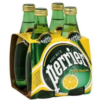 Perrier Water Lemon, 8.45-Ounce (250ml) Glass Bottles (Pack of 12)
