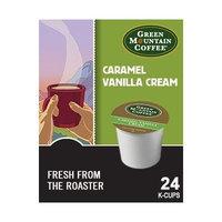 Green Mountain FLAVORED Coffee * CARAMEL VANILLA CREAM & HAZELNUT * Variety Sampler Pack 48 K-Cups for Keurig Brewers