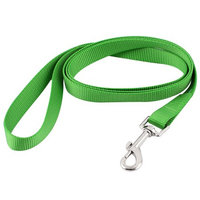 Pet Dog Puppy Swivel Hook Training Walk Lead Nylon Leash Rope 150cm Long Green