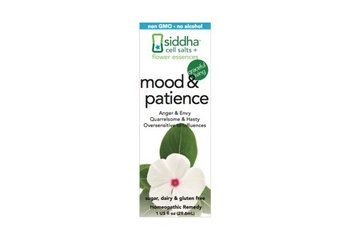Mood & Patience Siddha Flower Essences 1 fl oz Liquid