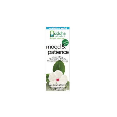 Mood & Patience Siddha Flower Essences 1 fl oz Liquid