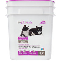 So Phresh Multi-Cat Lightweight Dual Odor Guard Litter, 12.5 LB
