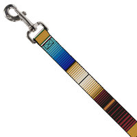 Buckledown Zarape Dog Lead, 6 ft, One Size Fits All, Multi-Color