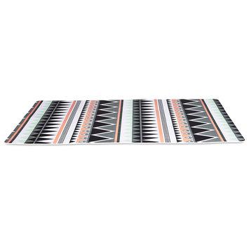Bowlmates By Petco Bowlmates Aztec Print Placemat, One Size Fits All, Black / Multi-Color