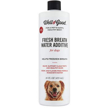 Well & Good Fresh Breath Water Additive for Dogs, 16 fl. oz.