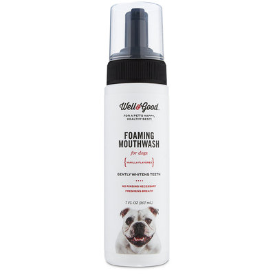 Well & Good Foaming Mouthwash for Dogs, 7 fl. oz.