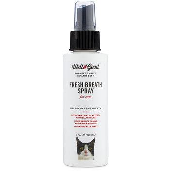 Well & Good Fresh Breath Spray for Cats, 4 fl. oz.