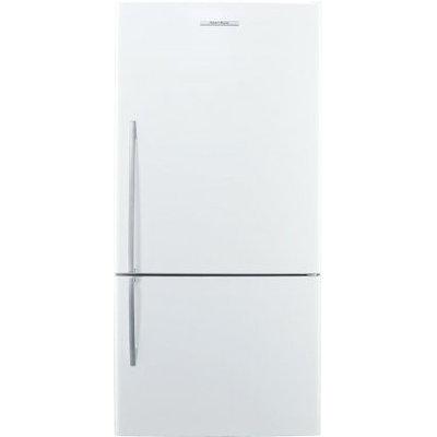 Fisher & Paykel 5 Series 17.6-cu ft Bottom-Freezer Refrigerator (White) ENERGY STAR E522BRE5