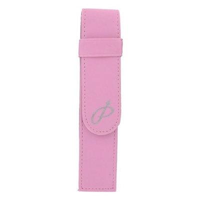 Parker Pink Leather Single/Double Pen Storage Carrier Pouch