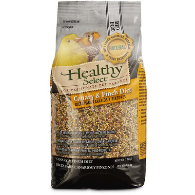 Healthy Select Canary & Finch Diet Bird Food, 3 lbs.