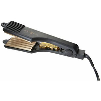 Gold N' Hot GH3013 Gold Tone Crimping Iron, 2 Inch