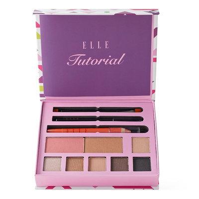 ELLE Beauty Full Face Makeup Palette, Multicolor