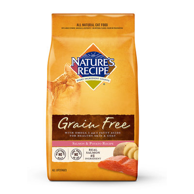 Nature's Recipe Grain-Free Salmon & Potato Adult Cat Food