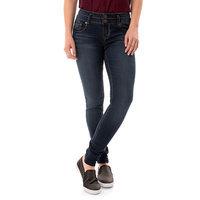 Juniors' Wallflower Legendary Curvy Low Rise Skinny Jeans, Girl's, Size: 3, Brt Yellow